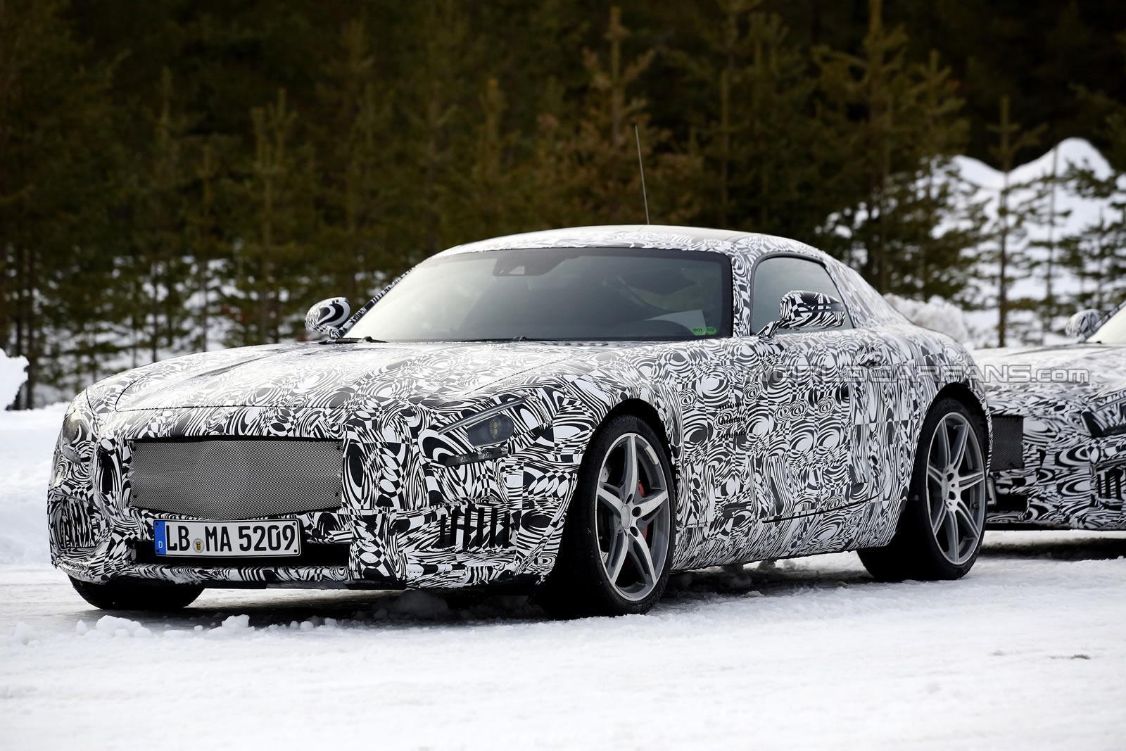 Mercedes AMG GT c190