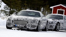 Mercedes AMG GT c190 Winter Testing