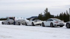 Mercedes AMG GT Winter Testing Spy Photo