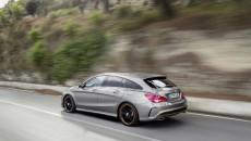 Mercedes-Benz CLA 250 4MATIC Shooting Brake Rear