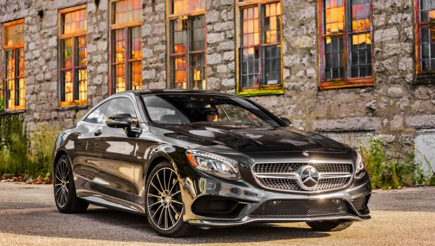Mercedes-Benz S550 4MATIC Coupe Exterior