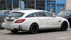 Mercedes CLS63 AMG Shooting Brake
