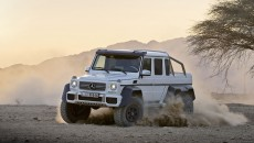 Mercedes G63 AMG Six-Wheeler