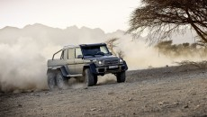 Mercedes-Benz 6x6 six-wheeler