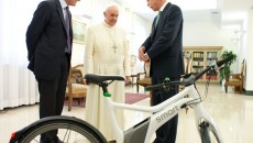 Dieter Zetsche meets with Pope Francis