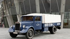 The Lo 2750 of 1936 was characteristic of the 1930s. In 1932 it achieved the breakthrough of the diesel engine. Though it was also available with a petrol engine. The Lo 3500 owned by the Wackler freight company in Göppingen is another well-preserved representative of this era.