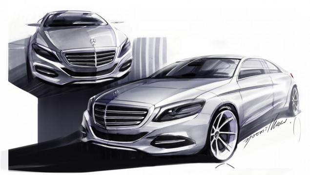 2014 S-Class Exterior Features