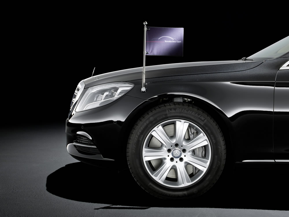Mercedes-Benz S-Class, S 600 Guard