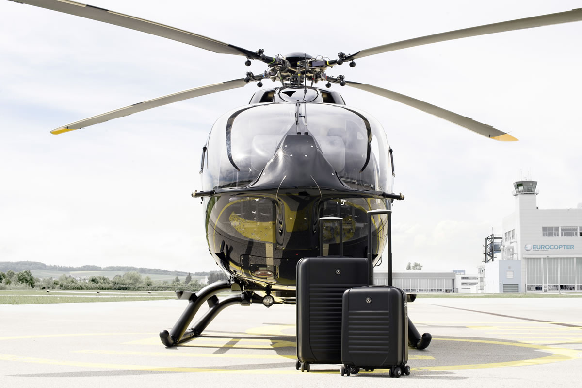 In 2011 the Mercedes-Benz Style EC145 helicopter from Eurocopter was the first product from Mercedes-Benz Style to be launched on the market. Mercedes-Benz Style Leather and Luggage.