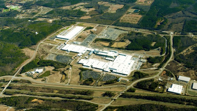 Mercedes-Benz Tuscaloosa Plant