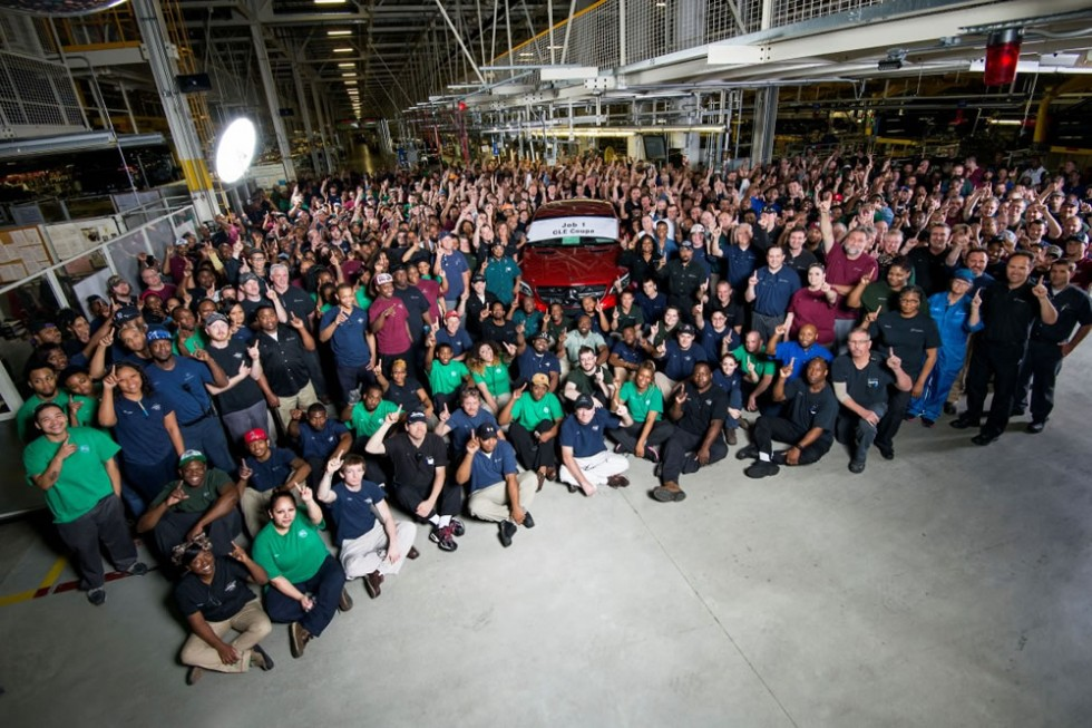 Mercedes-Benz Tuscaloosa Plant Employees