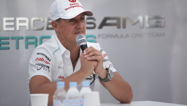 Michael Schumacher Retiring