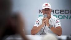 Michael Schumacher Retiring Suzuka