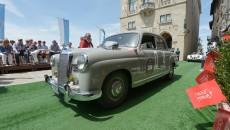 Mille Miglia 2012, Mercedes-Benz 220 a (W 180, 1954 bis 1959).