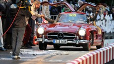 Mille Miglia 2013, Mercedes-Benz 300 SL Coupé (W 198, 1954 to 1957).
