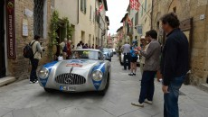 Mille Miglia 2013, Mercedes-Benz 300 SL racing car (W 194, 1952).