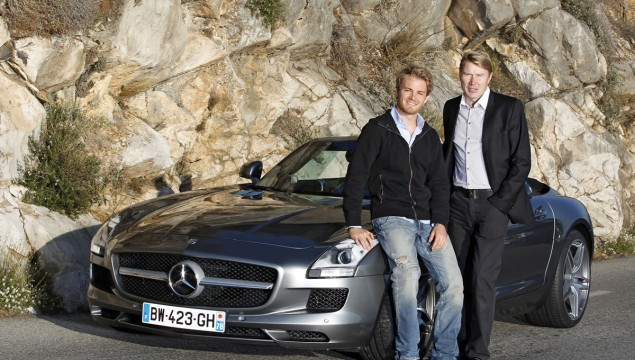 photo of Nico Rosberg Mercedes SLK – 05 - car