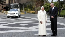 Pope Benedict XVI Takes Delivery of New Popemobile