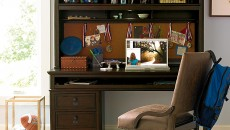 Smartstuff Paula Deen - Guys Henry's Desk with Hutch and Leather Desk Chair