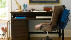 Smartstuff Paula Deen - Guys Henry's Desk and Leather Desk Chair