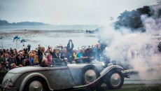 "Best of Show"" at the Pebble Beach Concours d'Elegance 2012: Mercedes-Benz Type S with Saoutchik bodywork, built in 1928. Because of its 6.8-litre engine capacity, the car was also known as Type 680 S"