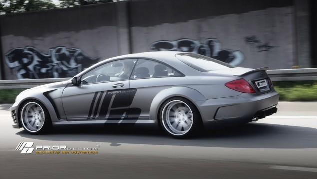 Mercedes CL Prior Design Black Edition V2 Widebody Kit