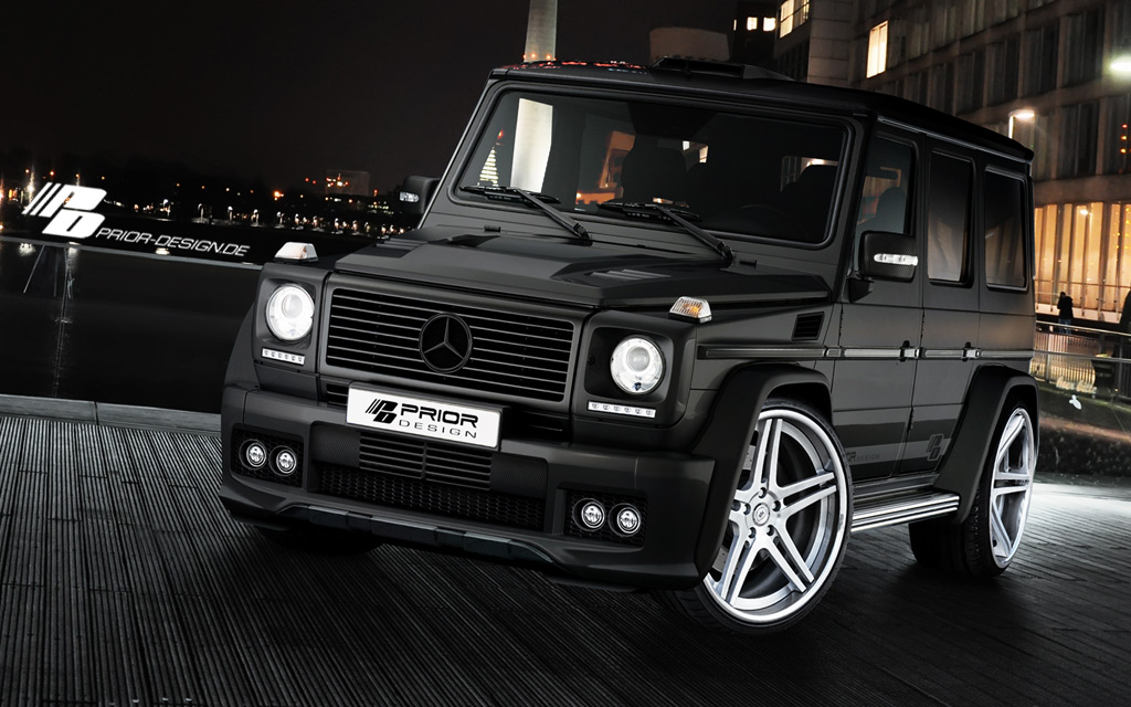 Mercedes-Benz G-Class by Prior-Design 1