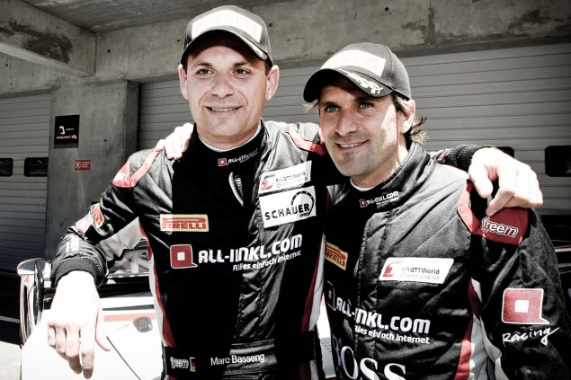 Driver and team title in the FIA GT1 World Championship for Marc Basseng and Markus Winkelhock from ALL-INKL.COM Münnich Motorsport