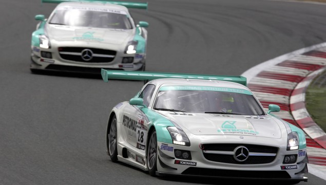 SLS AMG GT3 Customer Team