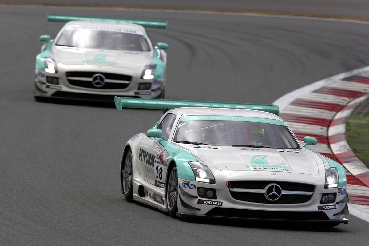 SLS AMG GT3 Customer Team 8