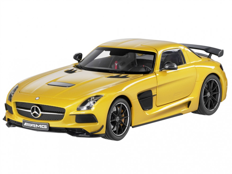 SLS AMG Coupe Black Series Scale Model