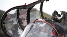 Lewis Hamilton flying hawk t1 jet