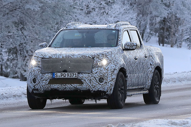 Spy Shots: Mercedes-Benz's X-Class Pickup Truck