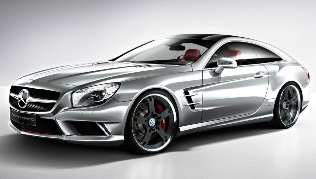 Mercedes SL Shooting Brake Concept