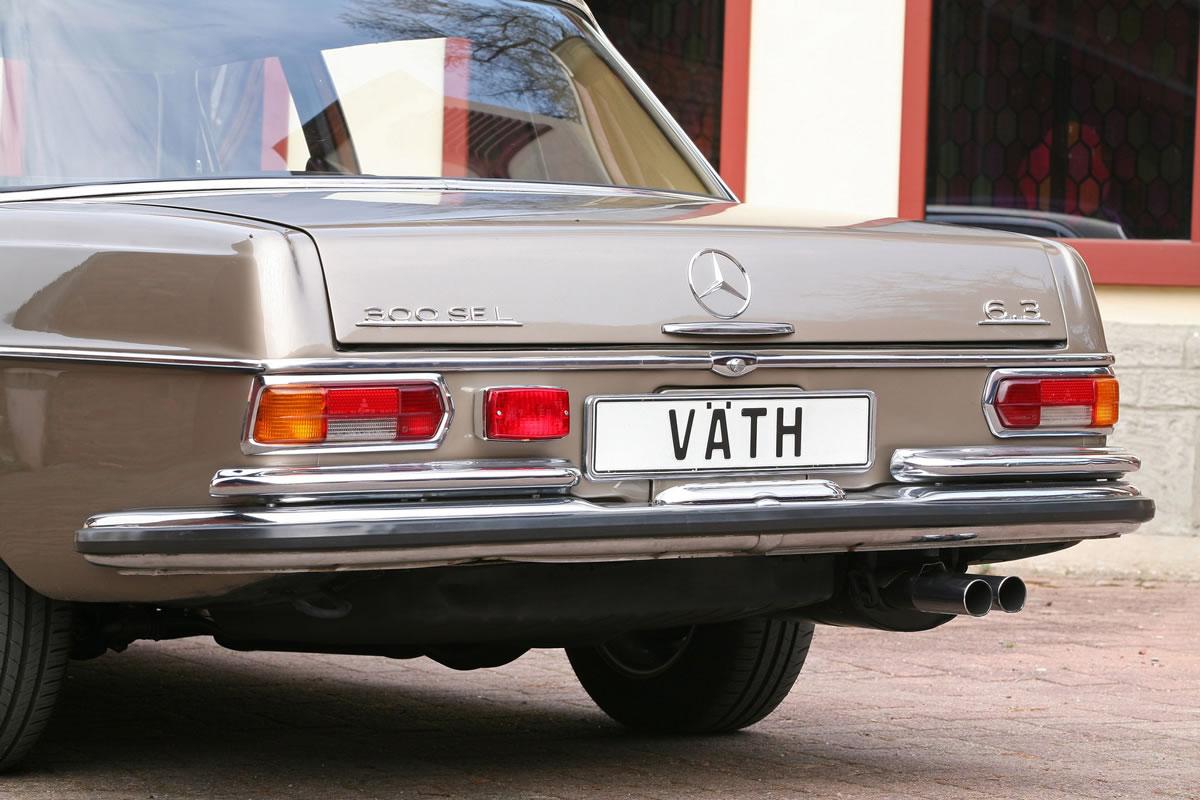 Vath Mercedes-Benz 300 SEL 6.3 rear bumper