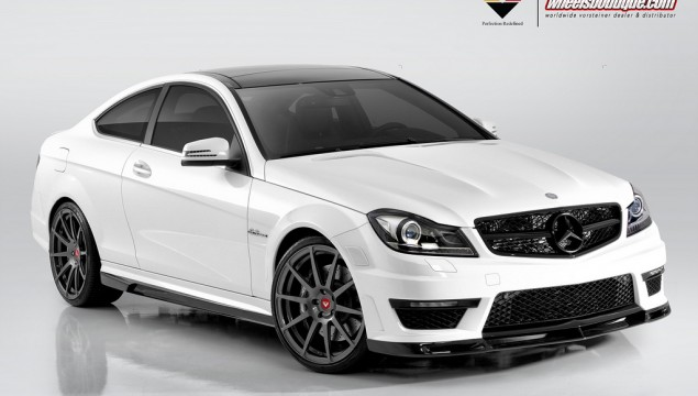Mercedes C63 AMG Coupe by Vorsteiner