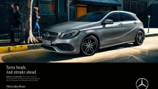 "To mark the launch, Mercedes-Benz is starting an extensive marketing and advertising campaign on all communication channels under the title ""The A-Class. Ready for a new generation."" The campaign will be centred on various print advertisements and a TV spot. Aimed at a young, modern target group, they will present the vehicle as the perfect companion in everyday life. The message is: the new A-Class offers its occupants even more comfort than before while remaining as dynamic as ever."