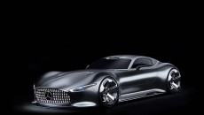 Mercedes-Benz AMG Vision Gran Turismo Concept car and the Cigarette Racing 50' Vision GT Concept.