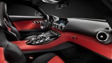 Mercedes AMG GT interior