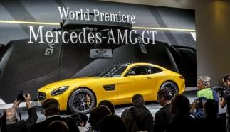 Mercedes AMG GT Premiere