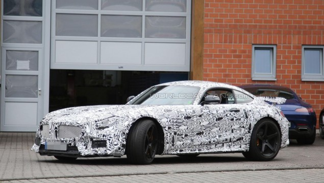 AMG GT3 Spy Photos