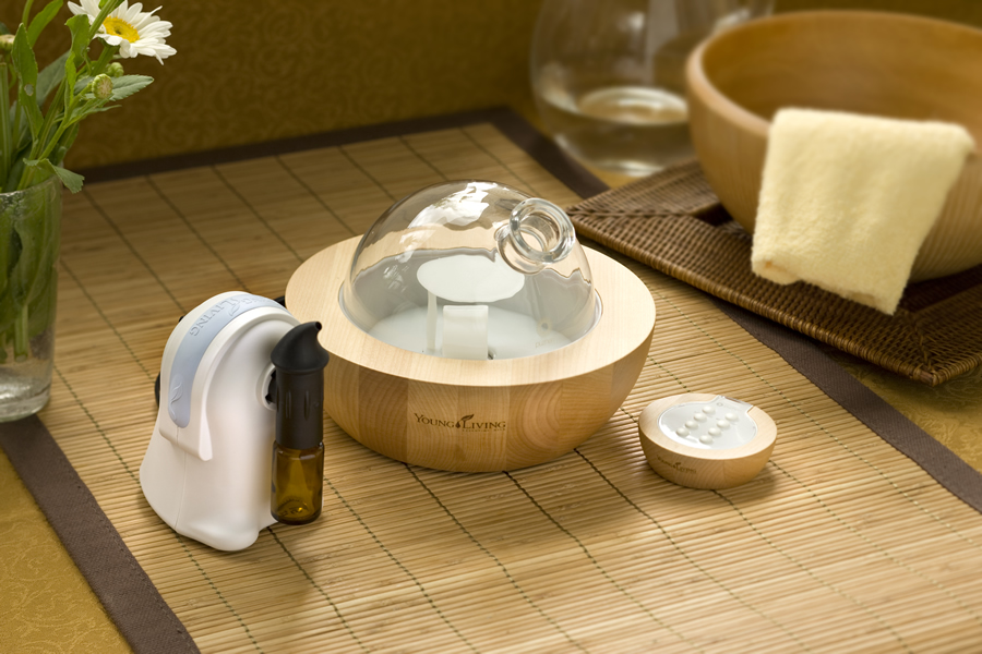 Young Living Aria Ultrsonic Diffuser and TheraPro