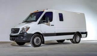 Armored Mercedes-Benz Sprinter