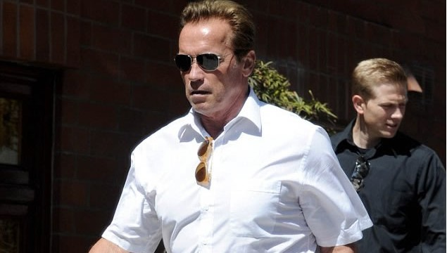Arnold Schwarzenegger Cruises Santa Monica Streets in Unimog
