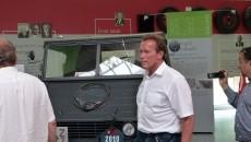 arnold Schwarzenegger Unimog Museum Tour