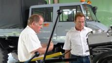 arnold Schwarzenegger Unimog