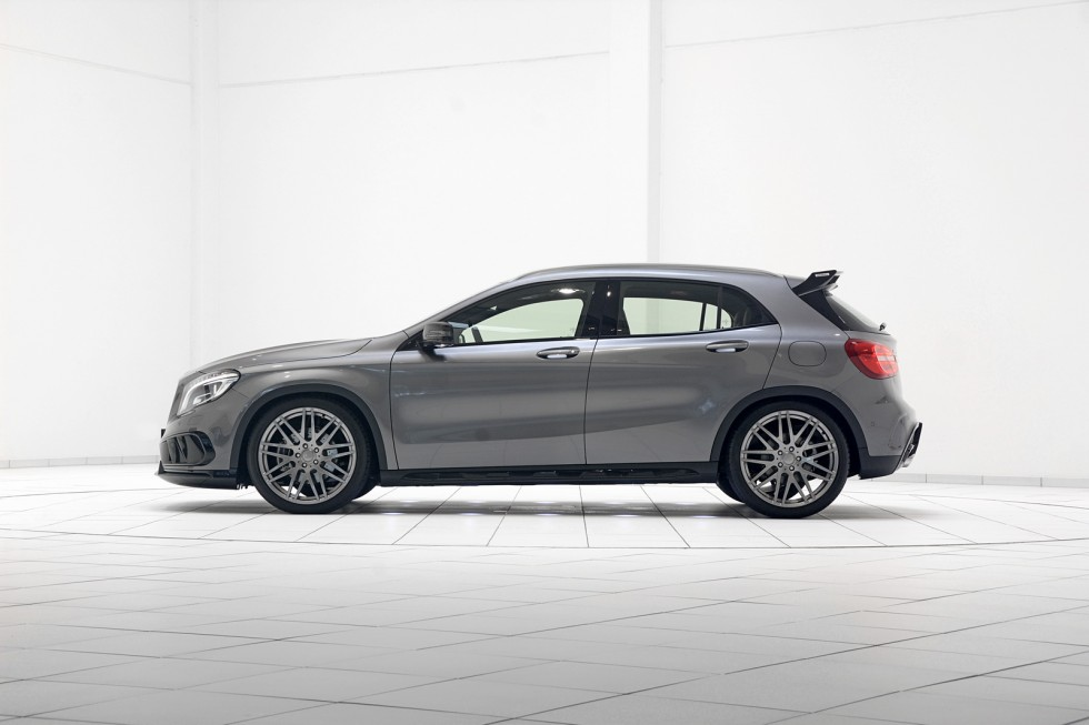 BRABUS Program for the Mercedes GLA-Class with AMG bodystyling kit