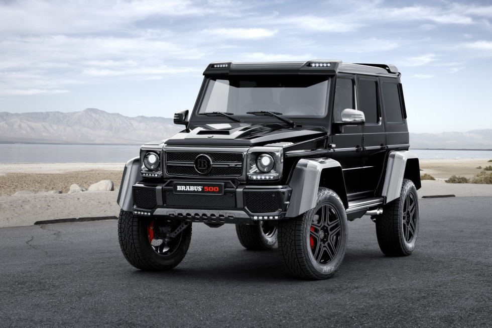 BRABUS refines the Mercedes G 500 4x4²