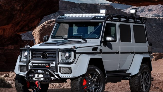 The Brabus 550 Adventure 4x4², the new king of off-roaders.