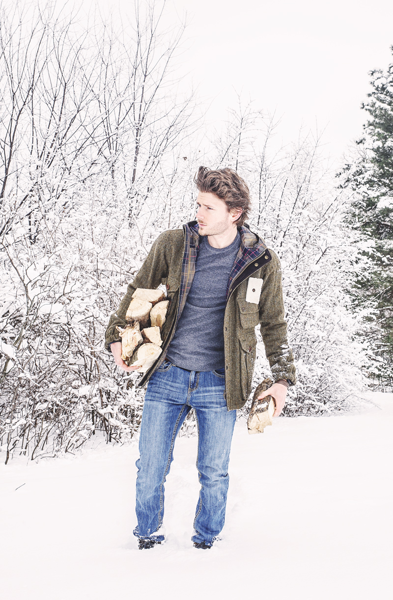 Barbour Wool Fishing Jacket from the Barbour Heritage Collection 1